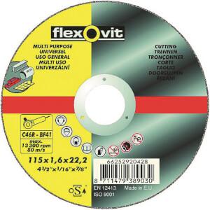 Flexovit Multi-Purpose Cutting Off Wheel - 115mm