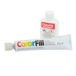 Unika Colorfill And Solvent Polar White - 25g