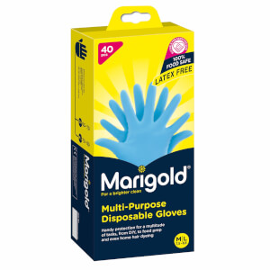 Marigold Multi-Purpose Disposable Nitrile Gloves- Pack of 40