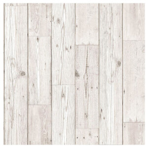Fresco Wood Plank Neutral Wallpaper