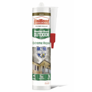 UniBond Weather Protect Frame Sealant Cartridge - Brown