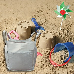 Stylish Stone Soft Play Sand - Bulk Bag 750kg