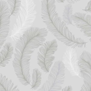 Grandeco Yasmine Grey Wallpaper