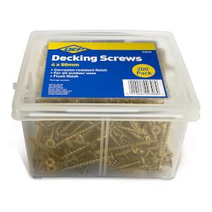QEP Decking Screw 4 x 50mm (500pk)