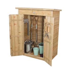 Forest (Installation Included) Wooden Pentagonal Garden Store