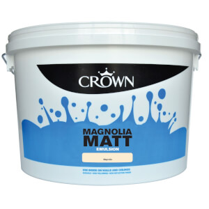 Crown Magnolia - Matt Emulsion Paint - 10L