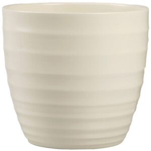 Plant Pot - Cream - 19cm