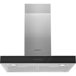 Hotpoint PHBS6.8FLTIX Chimney Cooker Hood - Stainless Steel