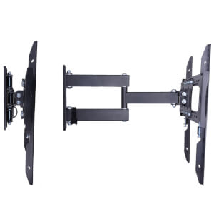 Ross Essentials MK2 Triple Arm Full Motion TV Wall Mount VESA 400 32-70 Inch Black