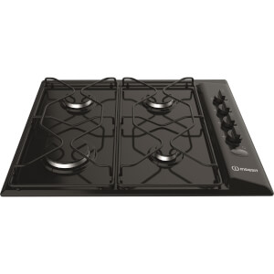 Indesit PAA 642 /I(BK) Gas Hob - Black