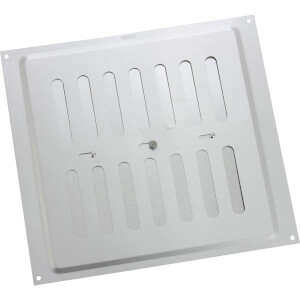 Adjustable Vent - 229 x 229mm - Silver Aluminium