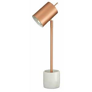 Hendrix Ceramic Table Lamp - Copper