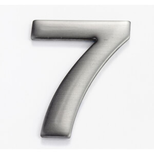 Mode Self Adhesive House Number - 50mm - 7