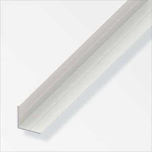 Rothley Equal Angle - White PVC - 19.5 x 2500mm
