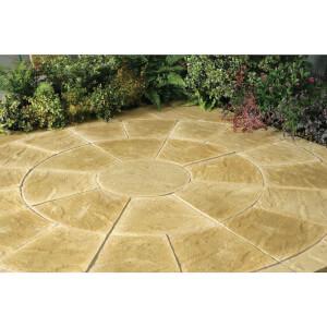 Stylish Stone Chantry Circle Kit 2.4m - Gold