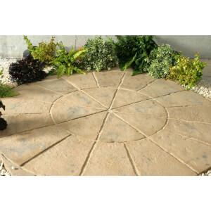 Stylish Stone Belfrey Circle 1.8m - Autumn Brown
