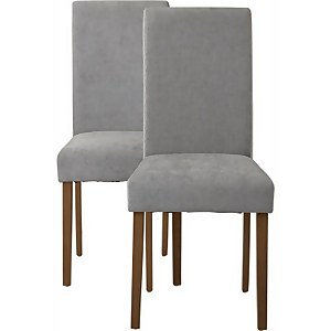 Diva Dining Chairs - Set of 2 - Grey