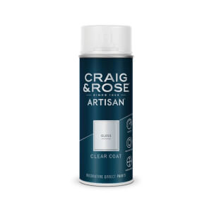 Craig & Rose Artisan Gloss Spray Paint - Clear Coat - 400ml