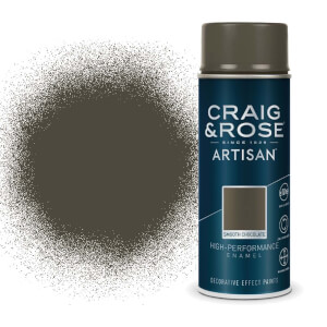Craig & Rose Artisan Enamel Gloss Spray Paint - Smooth Chocolate - 400ml