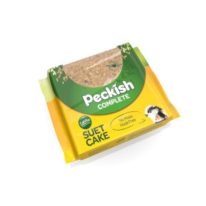 Peckish Complete Suet Cake Block for Wild Birds - 300g