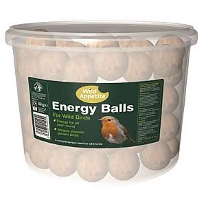Wild Appetite Suet Energy Fat Balls (Pack of 50)