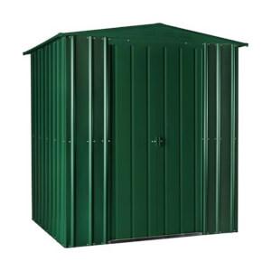 6x4ft Lotus Metal Shed Heritage Green