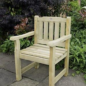 Forest Garden Rosedene Wooden Chair