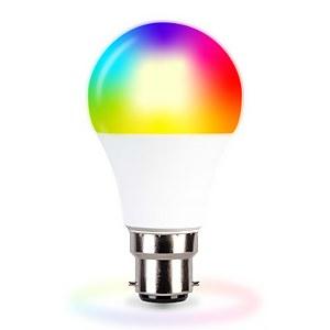 TCP LED Classic 60w B22 WiFi Colour Change Light Bulb