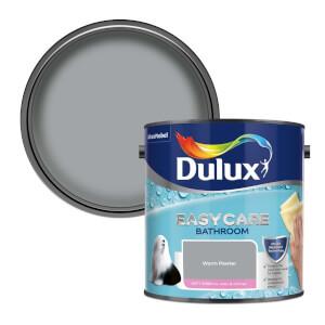 Dulux Easycare Bathroom Warm Pewter Soft Sheen Paint - 2.5L
