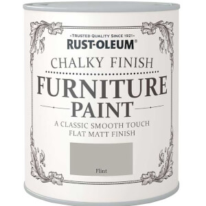 Rust-Oleum Chalky Furniture Paint - Flint - 125ml
