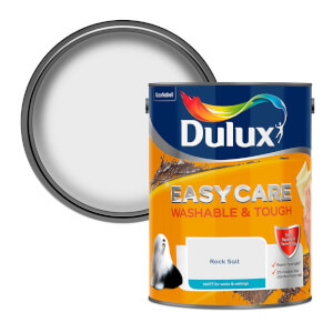 Dulux Easycare Washable & Tough Rock Salt Matt Paint - 5L