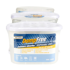 Pack of  4 DampFree Disposable Moisture Absorber - 500ml