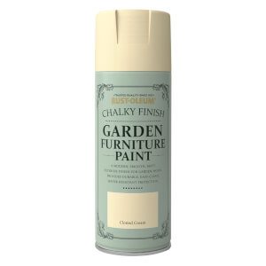 Rust-Oleum Garden Furniture Spray Paint Clotted Cream - 400ml