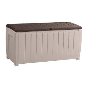 Keter Novel Garden Storage Box - 340L