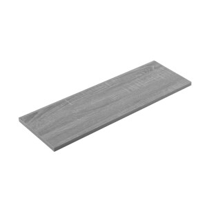 Timber Shelf - Grey Oak - 600x200x16mm