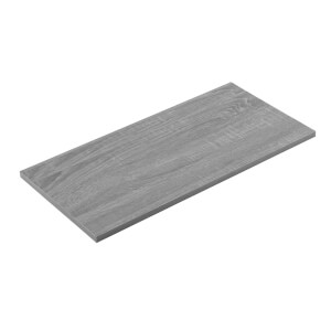 Timber Shelf - Grey Oak - 600x300x16mm