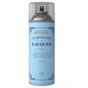 Rust-Oleum Spray Furniture Lacquer Sealer Clear - 400ml