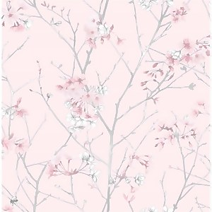 Superfresco Easy Spring Blossom Branch Pink Wallpaper