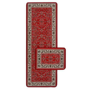 Traditional Runner Pack Red Rug - 57 x 230cm