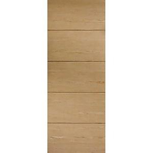 Lille Internal Prefinished Oak Fire Door - 762 x 1981mm