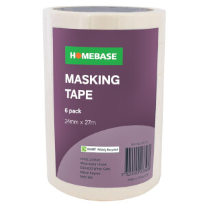 Pack of 6 Masking Tape