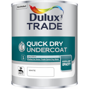 Dulux Trade Quick Drying Undercoat - White - 1L