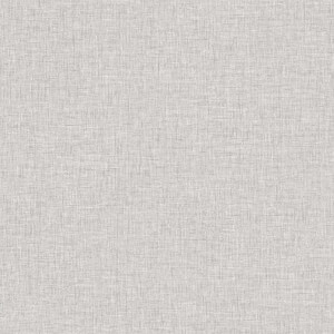 Arthouse Linen Texture Plain Textured Light Grey Wallpaper