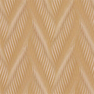 Belgravia Decor Coca Cola Geometric Embossed Metallic Gold Wallpaper