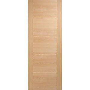Vancouver Internal Prefinished Oak 5 Panel Door - 762 x 1981mm