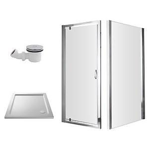 Balterley 900mm Pivot Shower Enclosure Package