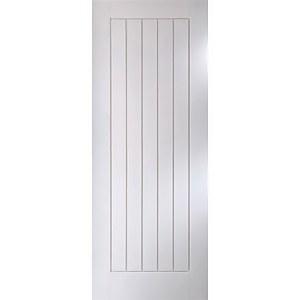 Cottage White Primed Interior Door 1981 x 686mm