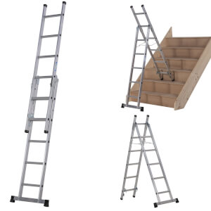Werner Combination Ladder - 3 in 1