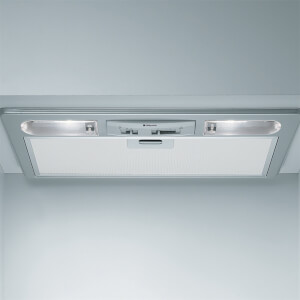 Hotpoint First Edition HTU32X Integrated Cooker Hood - Silver
