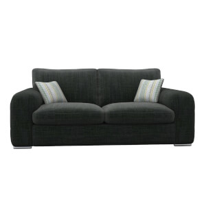 Amethyst 3 Seater Sofa - Charcoal